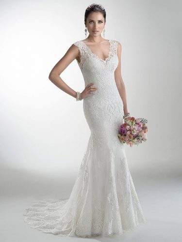 c2b5128ea42 Selecting a wedding dress is more than just a fitting. It s selecting the  right type for your body shape. What s follows is a guide to selecting the  right ...