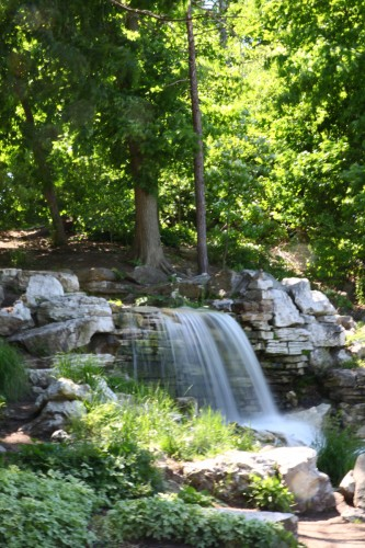 Waterfall in Forest Park off Lagoon Drive