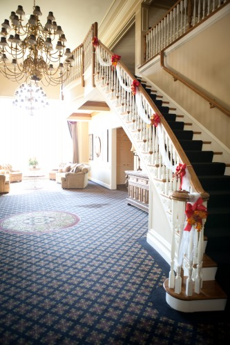 Bogey Hills Country Club - Grand Stair Case - BrideStLouis.com Venue Review