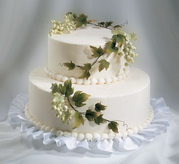 2 Tier Wedding Cakes | Two Tier Wedding Cake Bridestlouis Com Bride St Louis